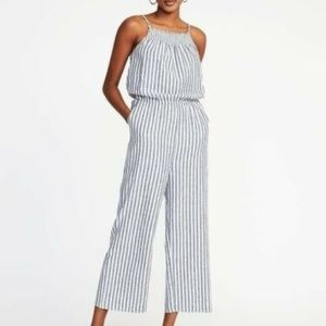 Old Navy Sleeveless Jumpsuit Romper Smocked Small
